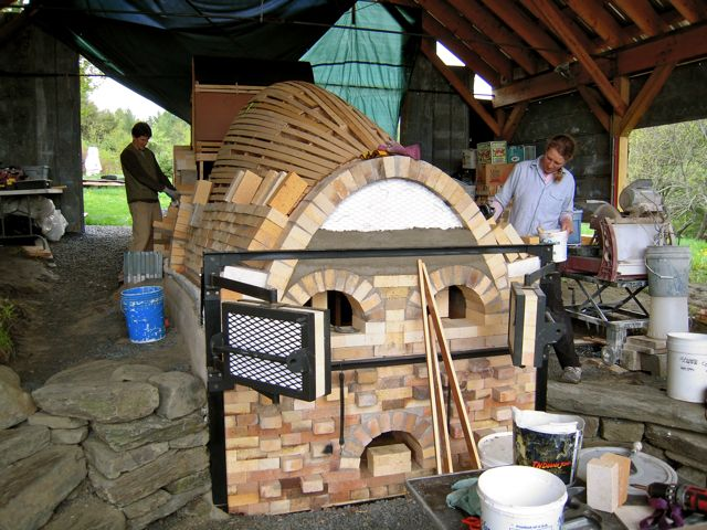 wood kiln, kiln building
