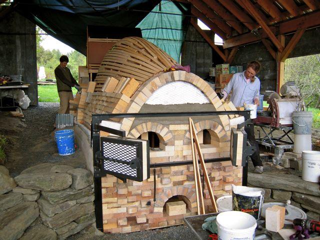 wood kiln, kiln building