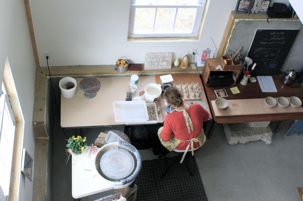 Becca's studio space