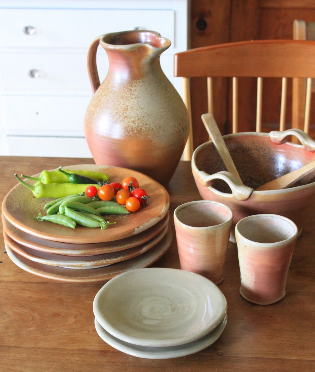 handmade pottery, woodfired pottery, Vermont pottery, Vermont potters