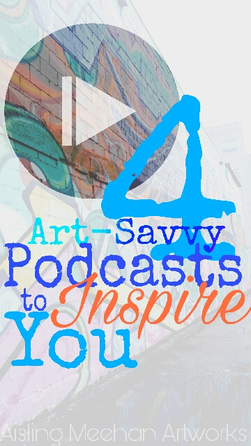 inspirational art podcasts