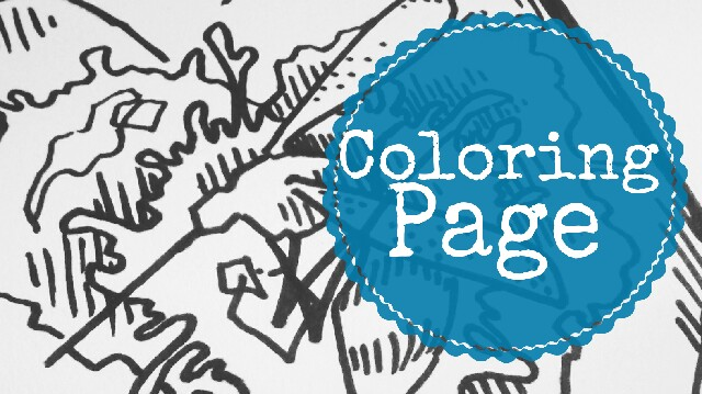 coloring page free download