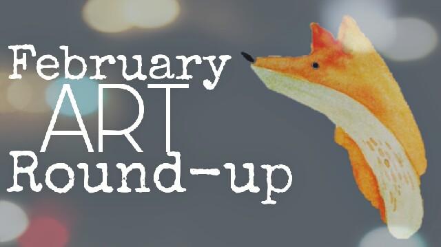 February art round up fox