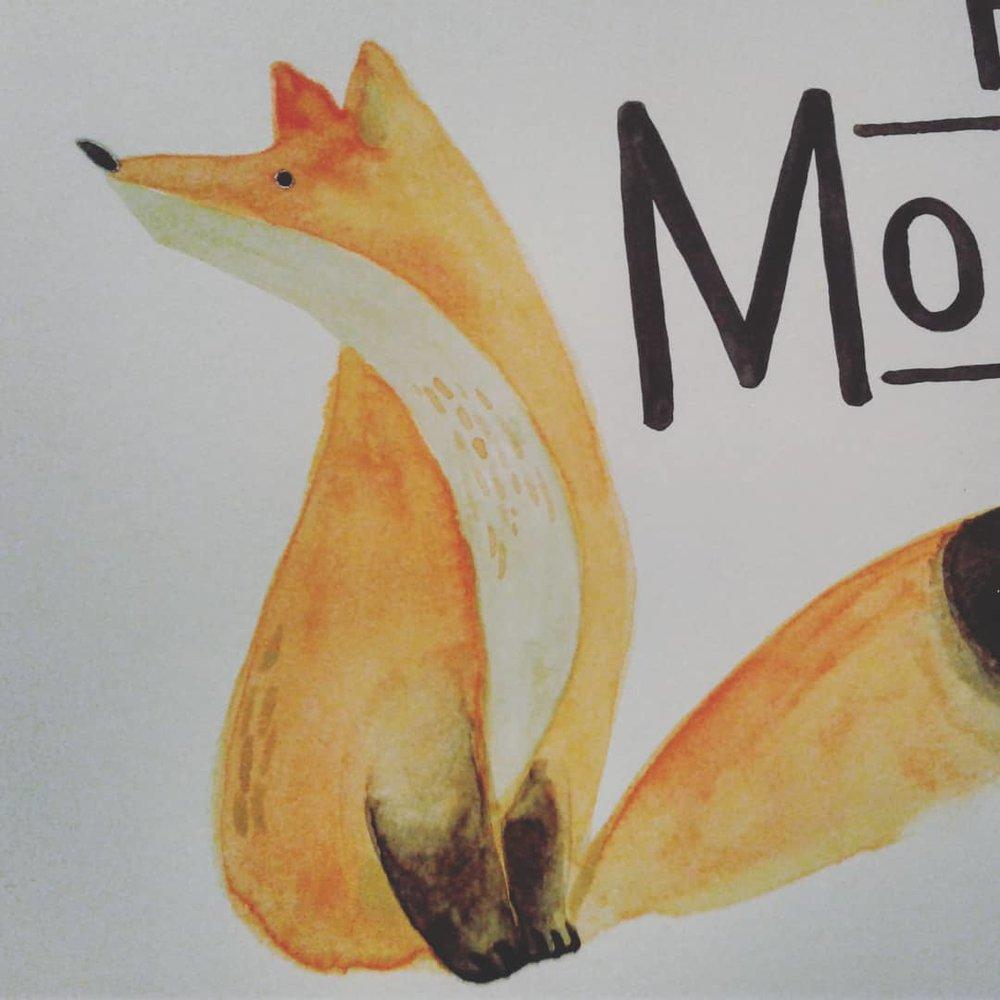 Fairbanks Montessori Fox logo