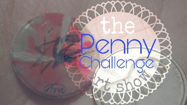 Penny Challenge art show