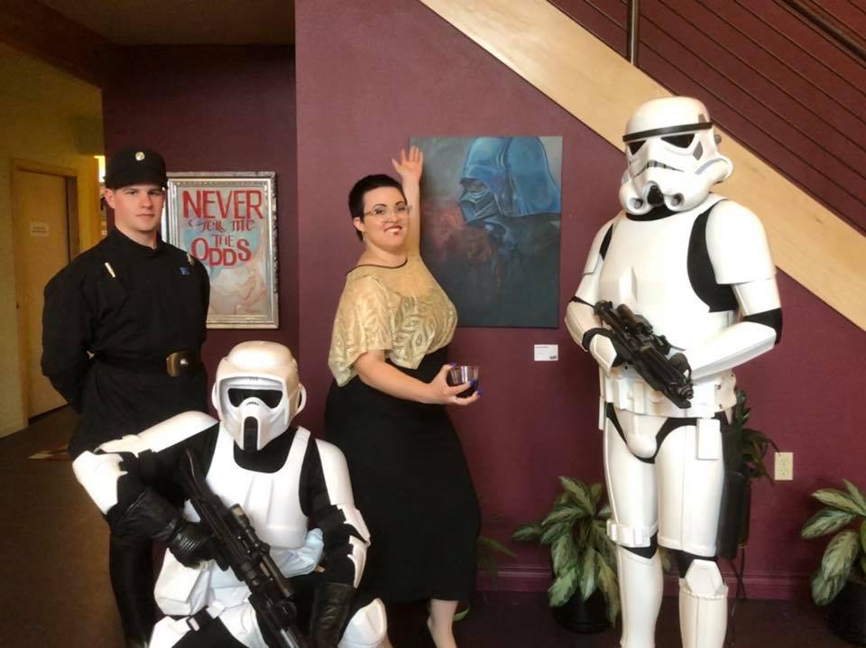 posing with the fine folk of the AK501st