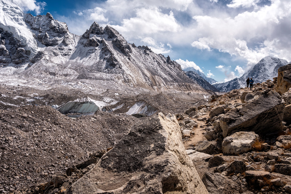 Nepal, la peste 5000 de metri, aproape de Everest base Camp
