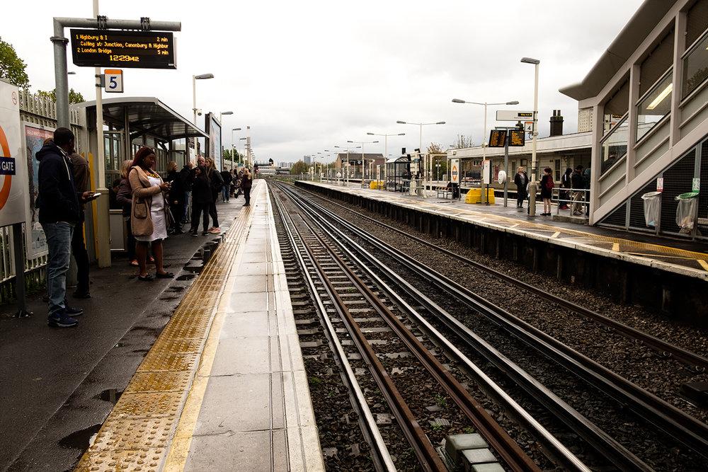 stație overground