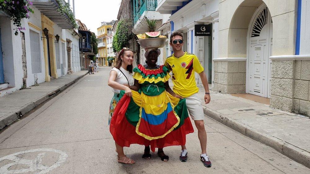 Columbia - o adevărată explozie de culoare