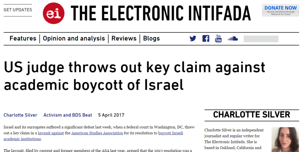Copy of Copy of Electronic Intifada