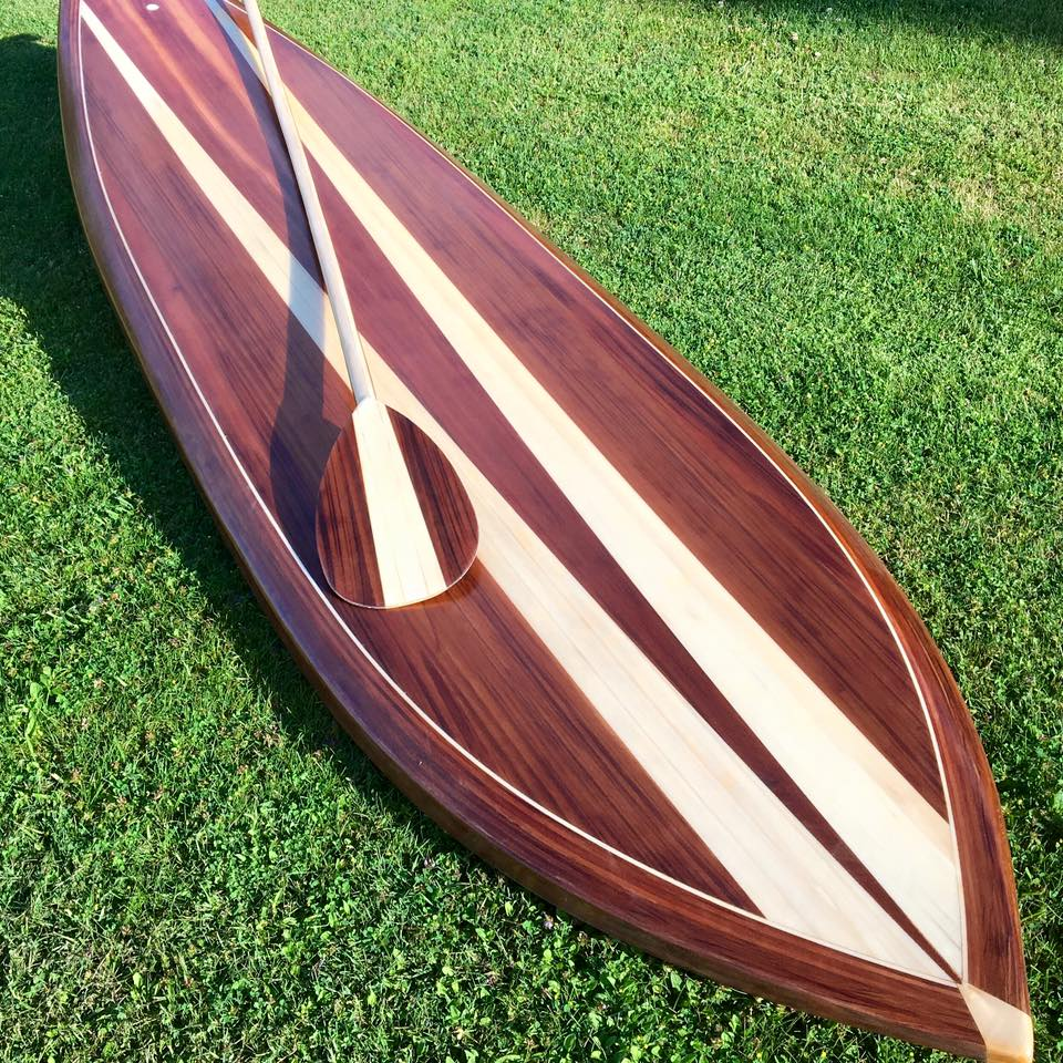 Little Bay Boards - Muskegon CUSTOM PADDLE BOARDSWe handcraft custom wooden paddle boards locally in northern Michigan.Our customers want a one of a kind paddle board designed specifically for them. Whether you are paddling along the Muskegon State Park or Mona Lake, you will feel confident standing on your custom built board.