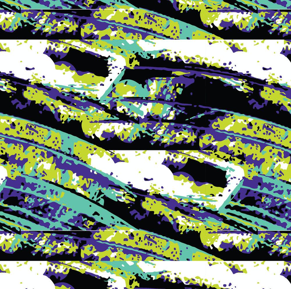Digital Textile Collection | Electro