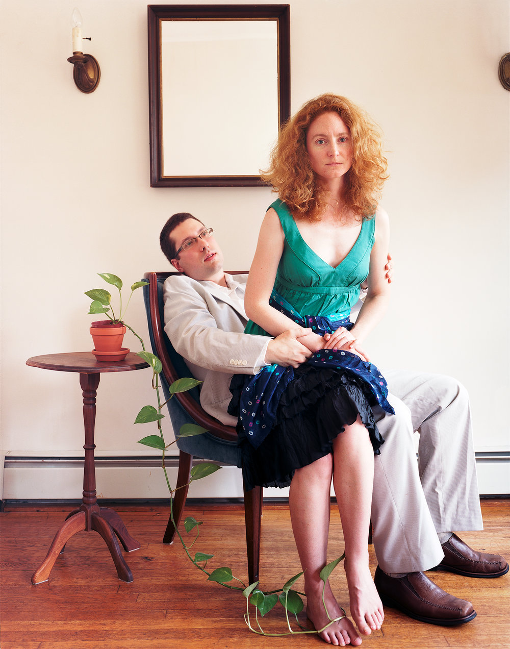 Heather and David, 2010