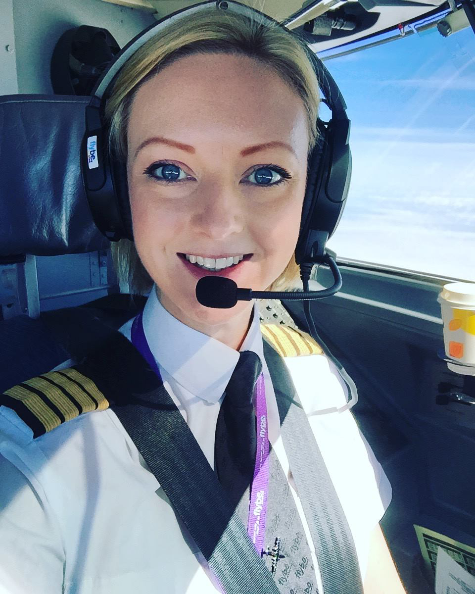 EMMA IN THE COCKPIT.JPG
