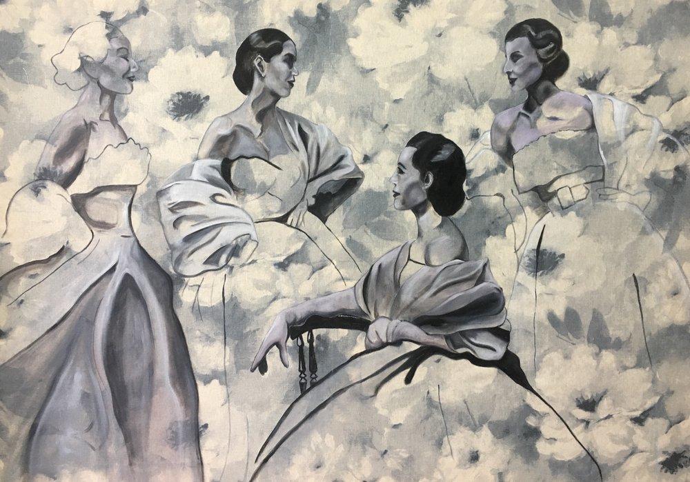 ^ Les Femme Diaphanes - SOLD