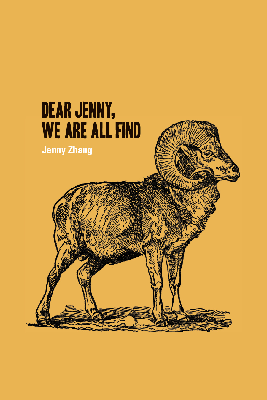 My first poetry book, Dear Jenny, We Are All Find is available from Octopus Books.