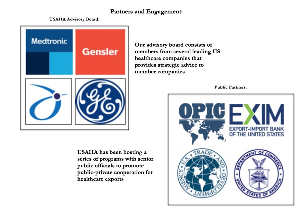 USA Healthcare Alliance Partners and Engagement
