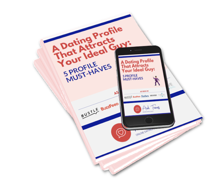 Make DAting Apps Work - with a perfect online profile. Grab my FREE Guide