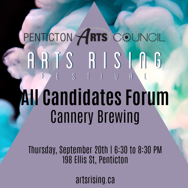 Arts Rising All Candidates Forum