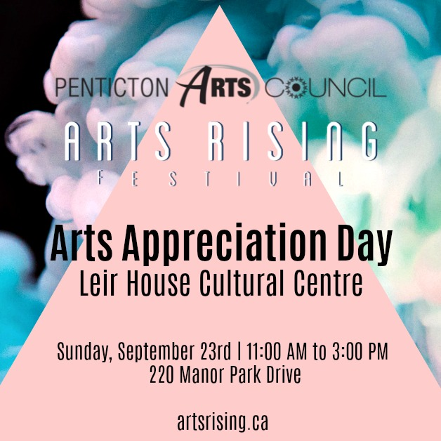 Arts Rising Arts Appreciation Day