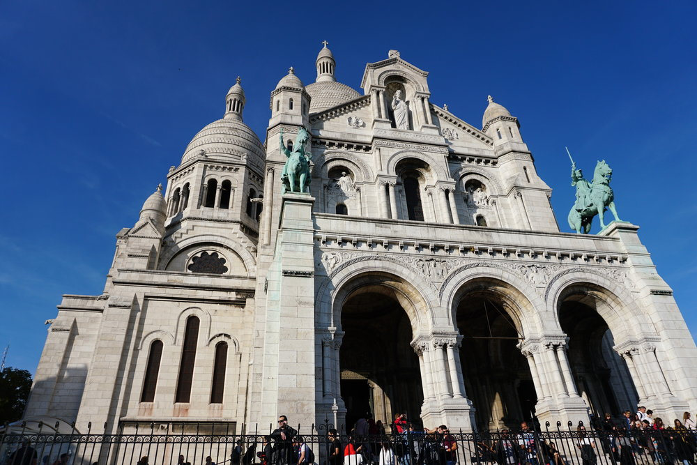 SAcre coure - Basilica Of the Sacred Heart