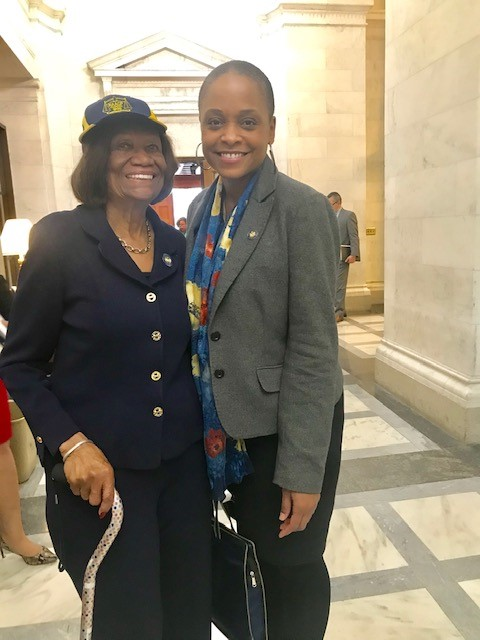 NAACP NYS Conference President Hazel N. Dukes and NYS Assembly Member Tremaine Wright