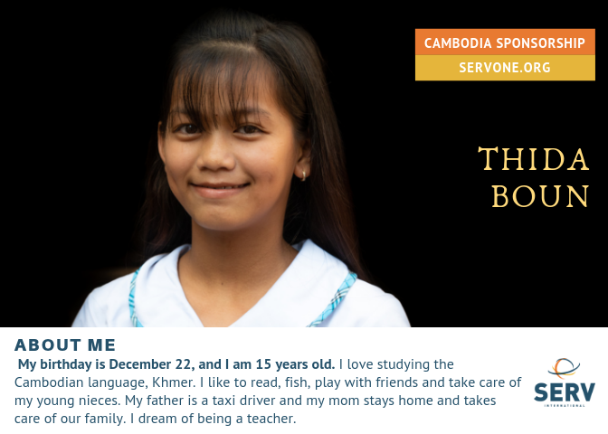 THIDA IS FULLY SPONSORED.