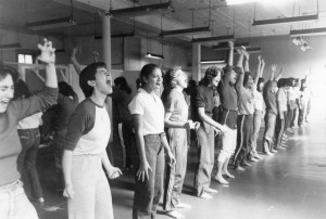 Self-defense class, 1981
