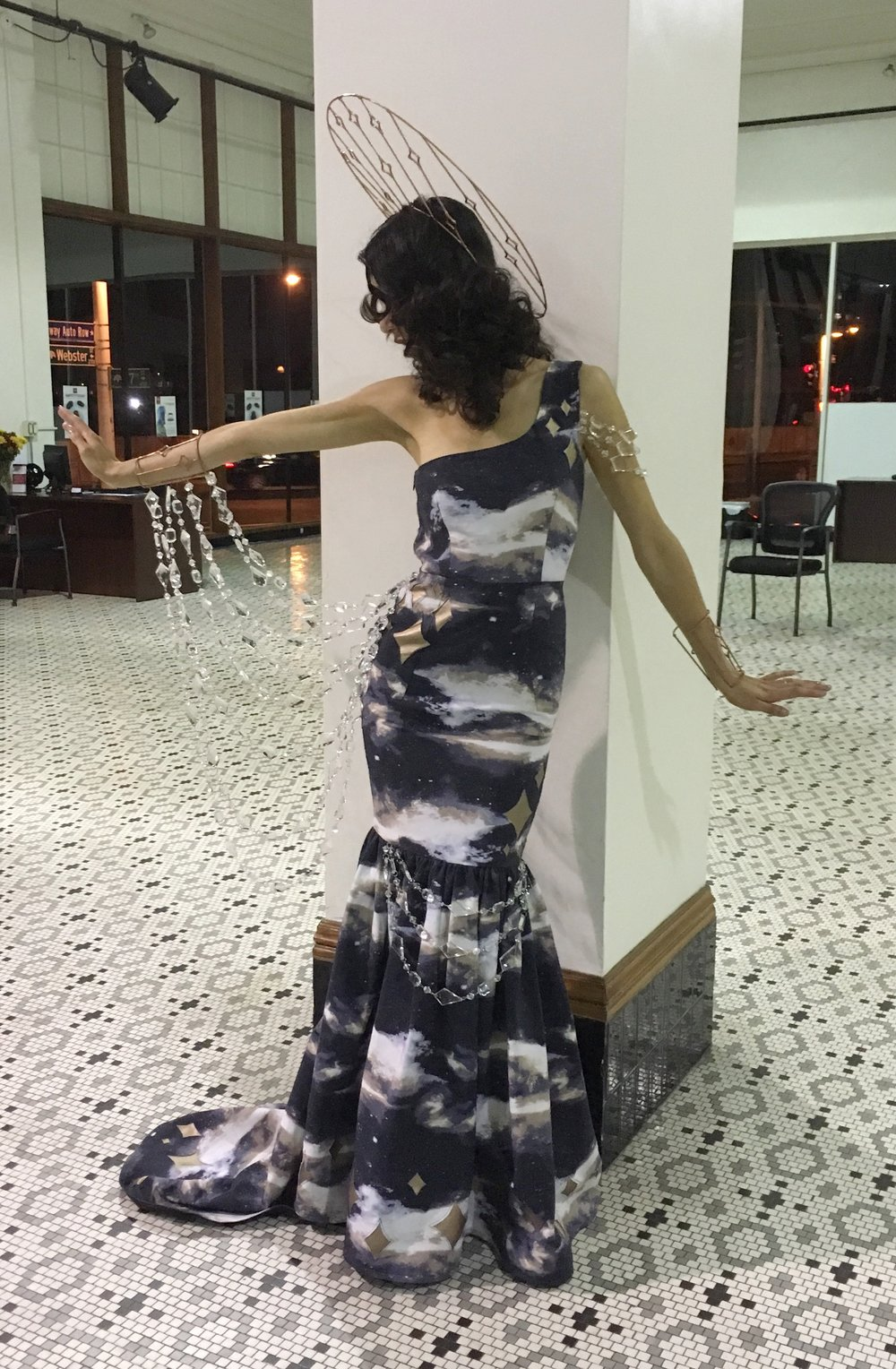 """Love Letter To the Universe"" Gown"