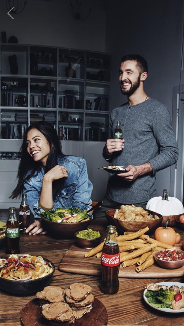 """Coca-Cola """"Meals"""" Social Media Campaign"""