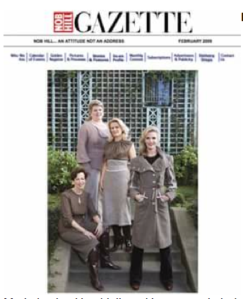 February 2009 Cover of Nob Hill Gazette