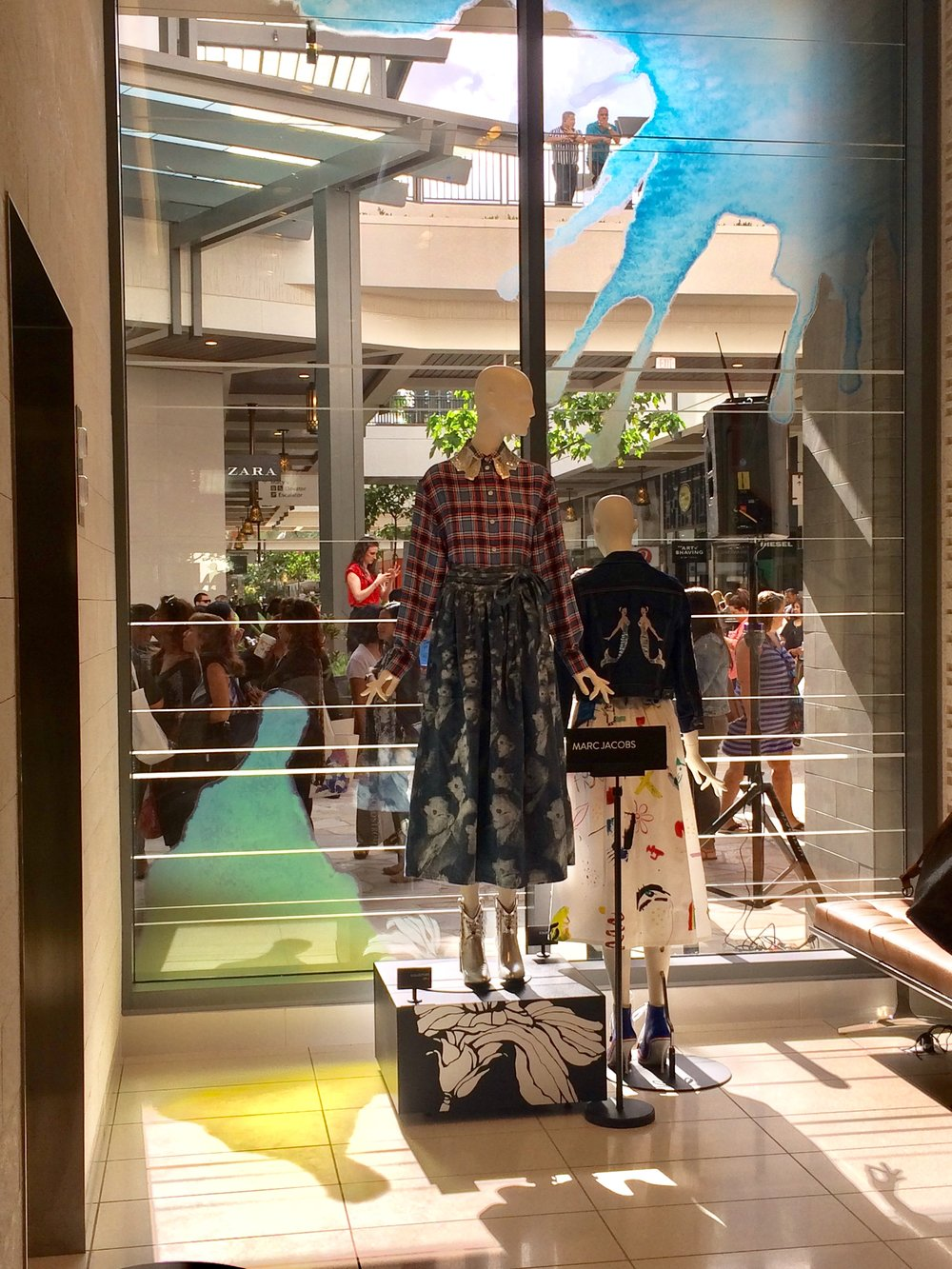 Nordstrom Ala Moana (Honolulu HI) - Marc Jacobs window