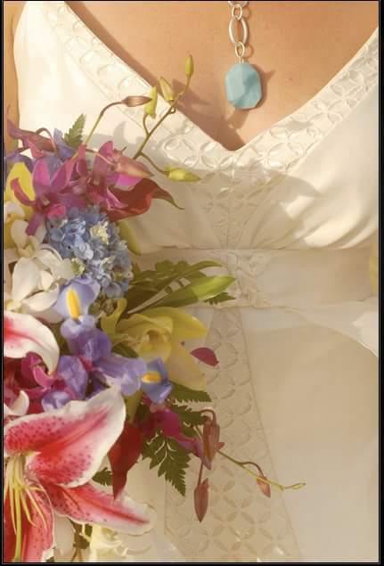 Detail of Stephanie Wedding Gown
