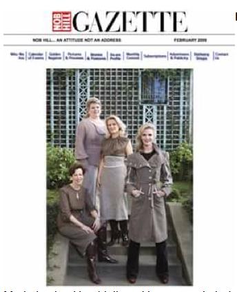 February 2009 Cover of Nob Hill Gazette