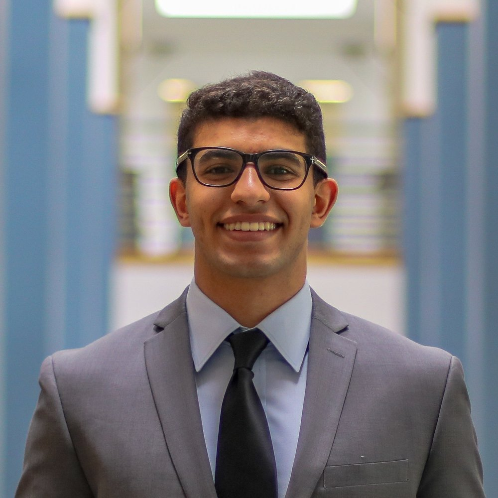 MECHANICAL ENGINEERING, IBE 2020   Kareem is a junior in the IBE program studying mechanical engineering. He is also seeking to earn a minor in data science.  Over the summer, he worked as a process engineering intern for Jacobs Engineering.