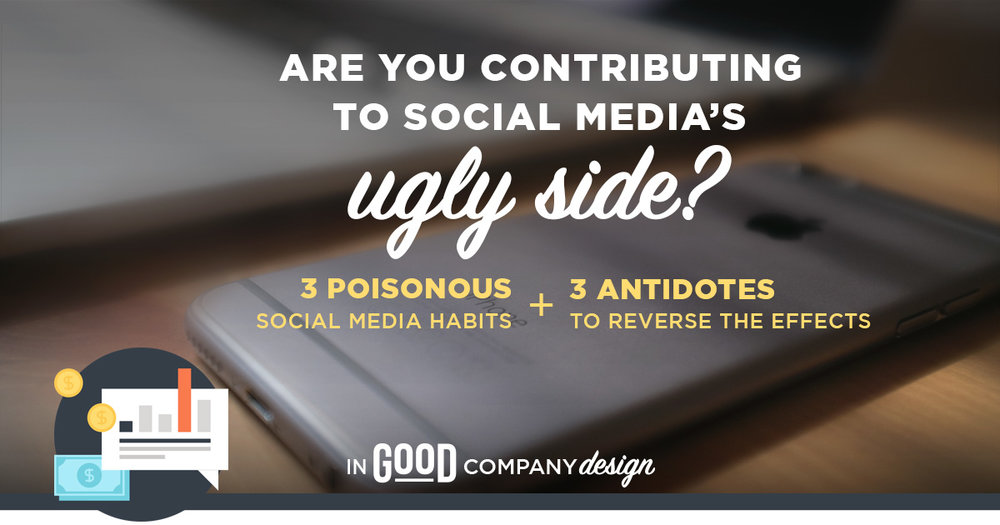 Are you contributing to social media's dark side?