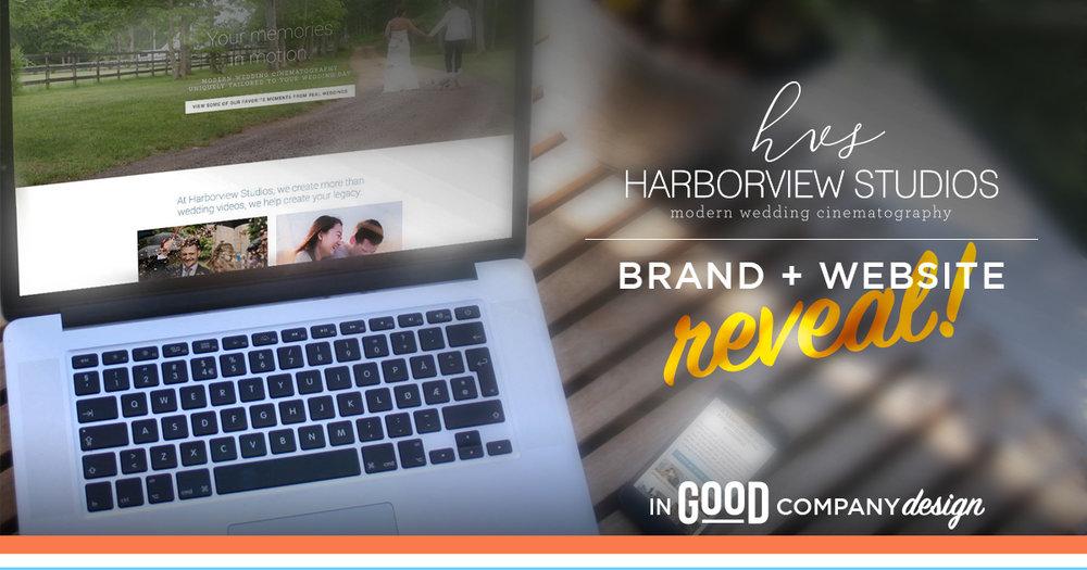 Harborview Studios Brand + Website Reveal