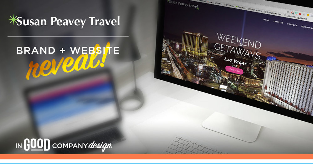 Susan Peavey Travel Website Reveal