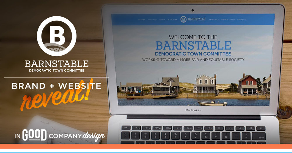 Barnstable Democratic Town Committee Brand + Website Reveal
