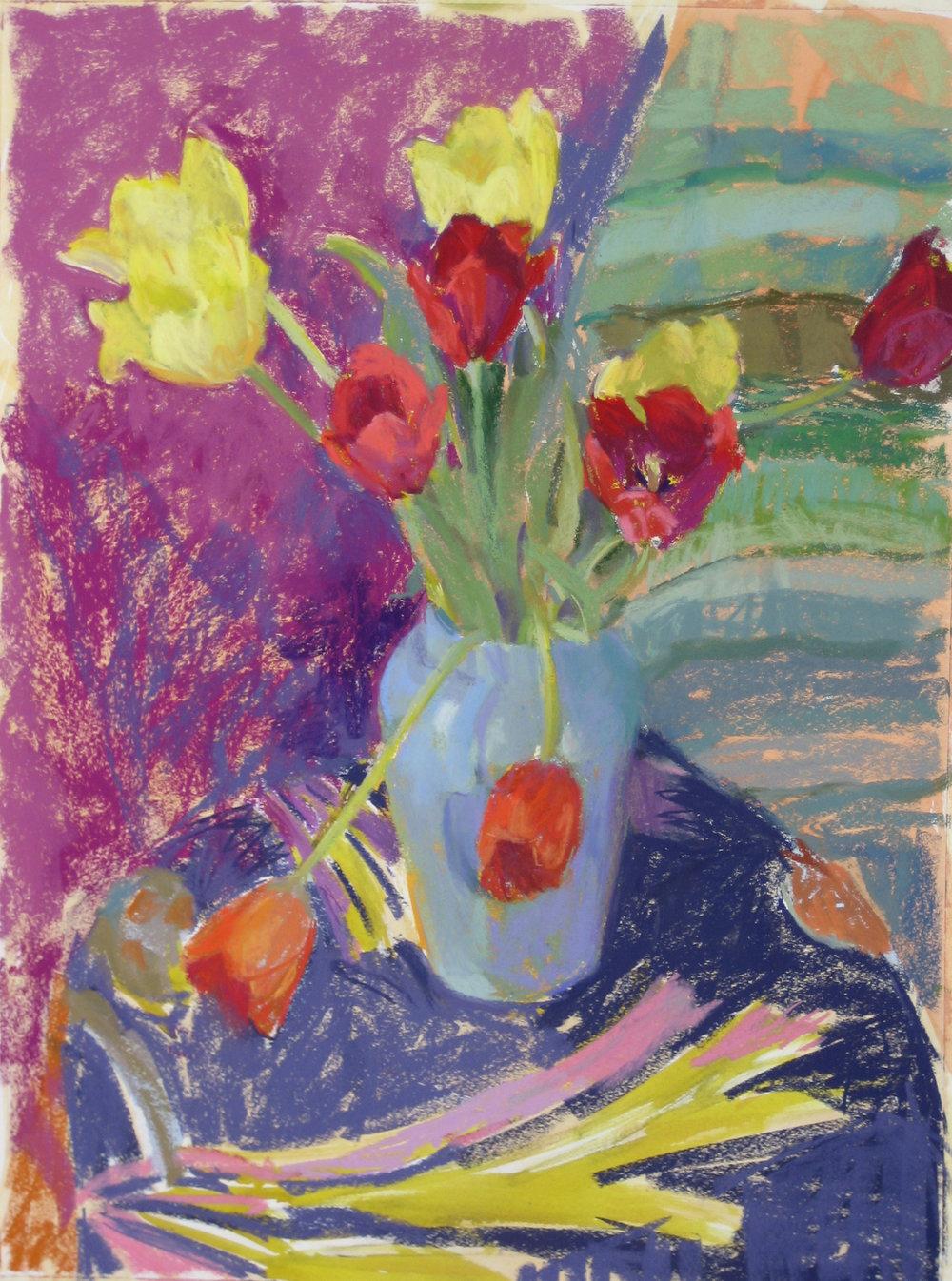 Tulips, February