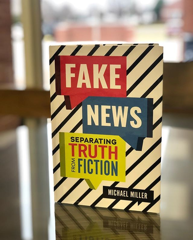 FAKE NEWS! - - Such a relevant book for students and adults alike! Check it out today!