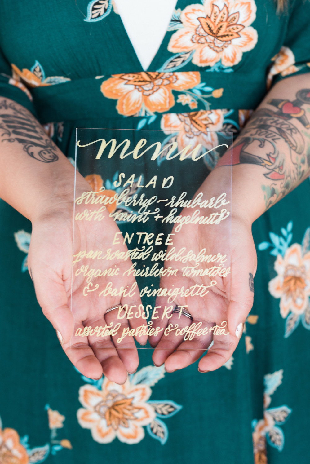 Calligraphy by Swell Anchor Studio