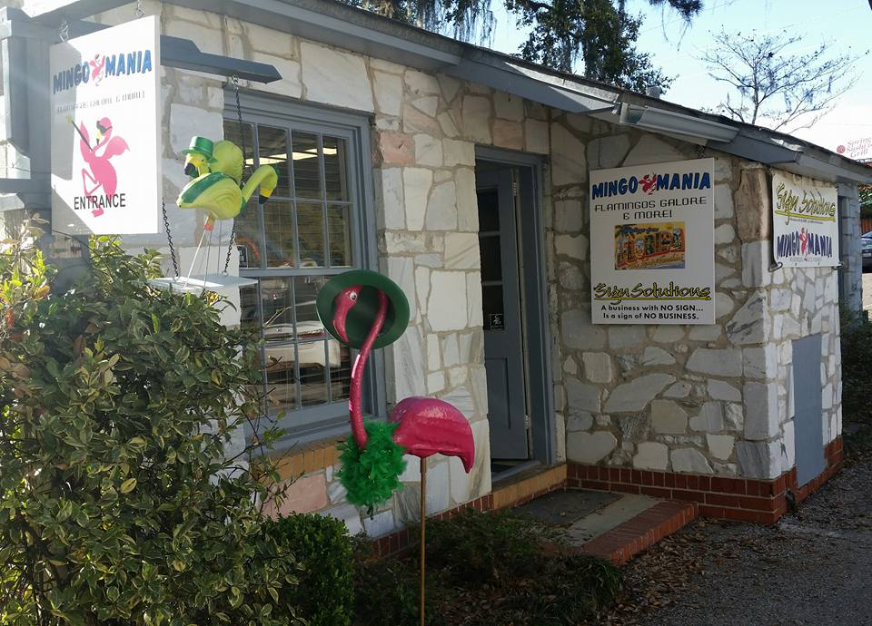 Mingo Mania started out at The Cottages at Lake Ella in Tallahassee, FL. We have now moved to beautiful Tarpon Springs and are located at 118 E Tarpon Ave.