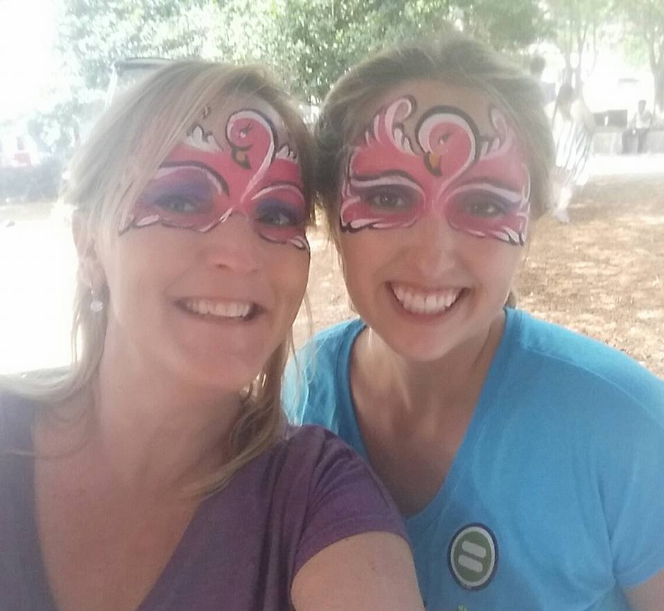 True Mingo fans sport a Mingo mask! Stop by and meet our owner, Stacy Wallace and our friendly staff!