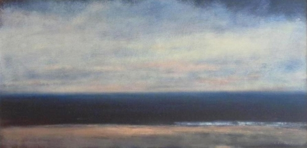 Atlantic Coast  - 24 x 48 - Oil on Canvas