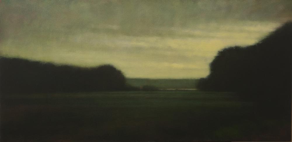 Evening Light  - 24 x 48 - Oil on Canvas