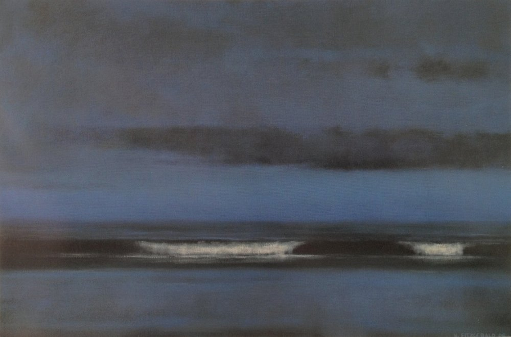 Ocean Nightfall  - 24 x 36 - Oil on Canvas - 2008. Collection of Dr. Jonathan & Terry Bell