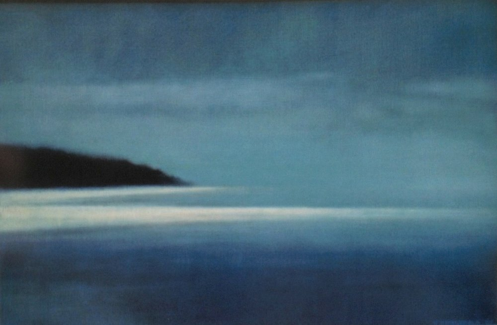 Pirates Bay  - 24 x 36 inches - Oil on Canvas - 2007. Collection of Nell Beal