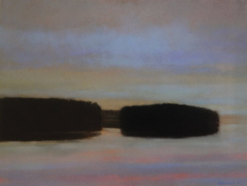 Opal Dawn  - 36 x 48 inches - Oil on Canvas - 2006. Collection of Dr. Lisa Renfrow & Dr. Jeremy Snow
