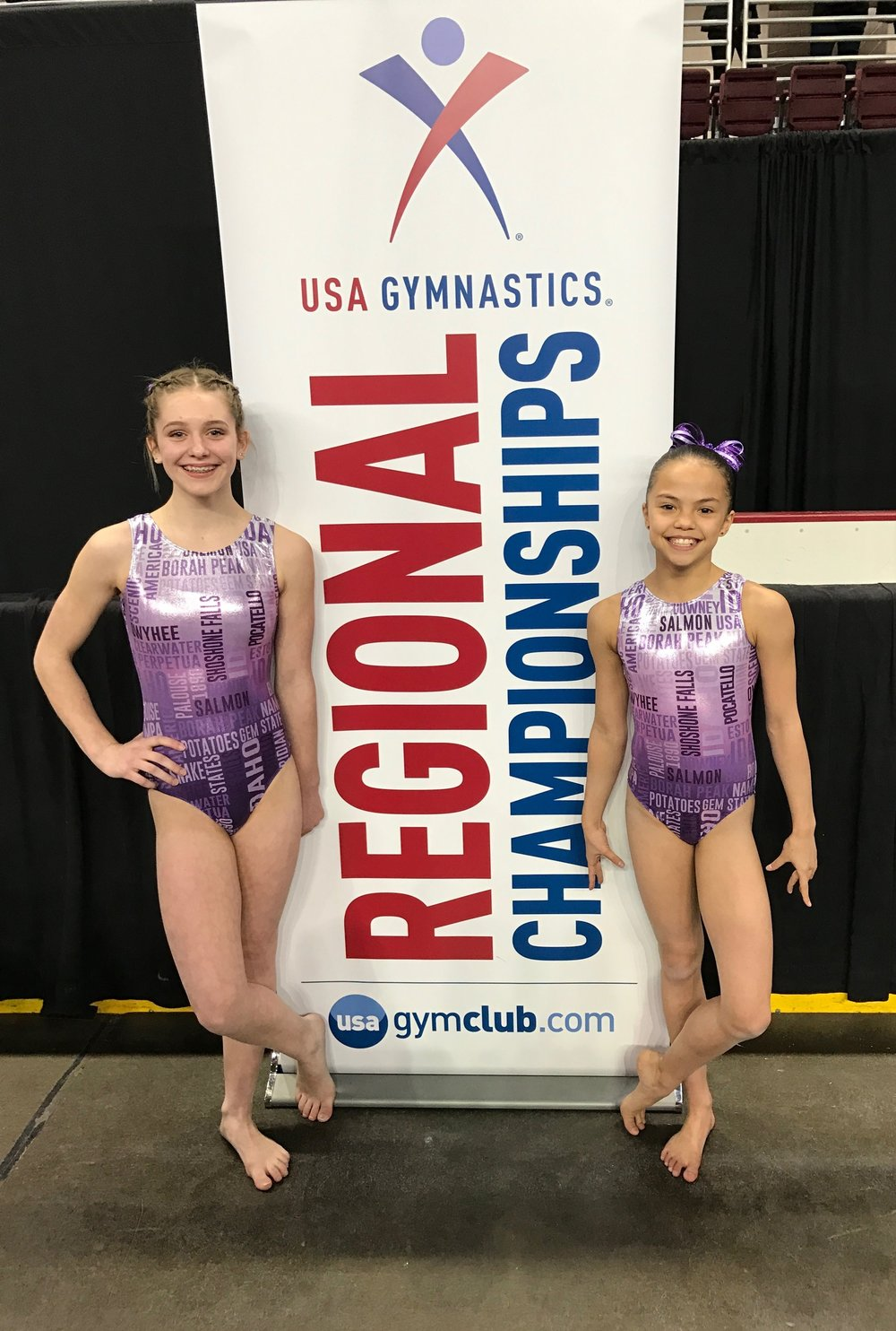 Regional state team gymnasts 2017
